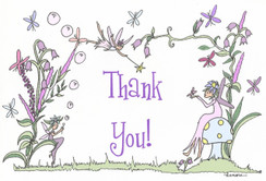 Fairy Themed Thank You cards