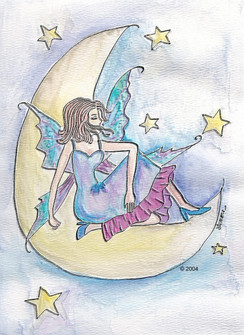 Wishing on a Star Fairy note cards