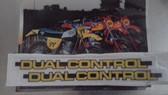 "Swing Arm Decal Set Maico 83 ""Dual Control"""