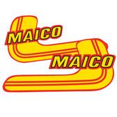 Tank Decal Maico 1981 Original shape