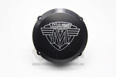 Ignition Cover Billet Alloy Maico 78-86 Black with Logo (MX only)