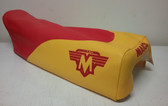 Seat Cover Maico 1983 Red/Yellow