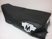 Seat Cover Maico 77-79 Gripper with Logo