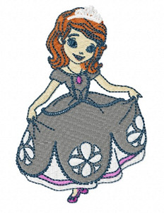 PRINCES SOFIA DISNEY EMBROIDERY MACHINE DESIGNS
