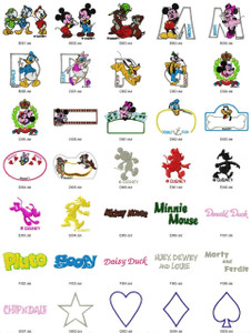 MICKEYJAPAN DISNEY HOLIDAY EMBROIDERY DESIGNS INSTANT DOWNLOAD BEST COLLECTION