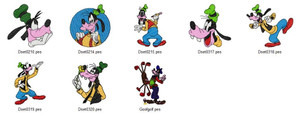 ALL GOOFY  DISNEY SEASON HOLIDAY EMBROIDERY DESIGNS INSTANT DOWNLOAD CUTE COLLECTION