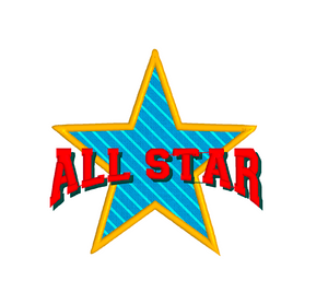 ALL STAR Embroidery Machine Patterns Designs Instant Download