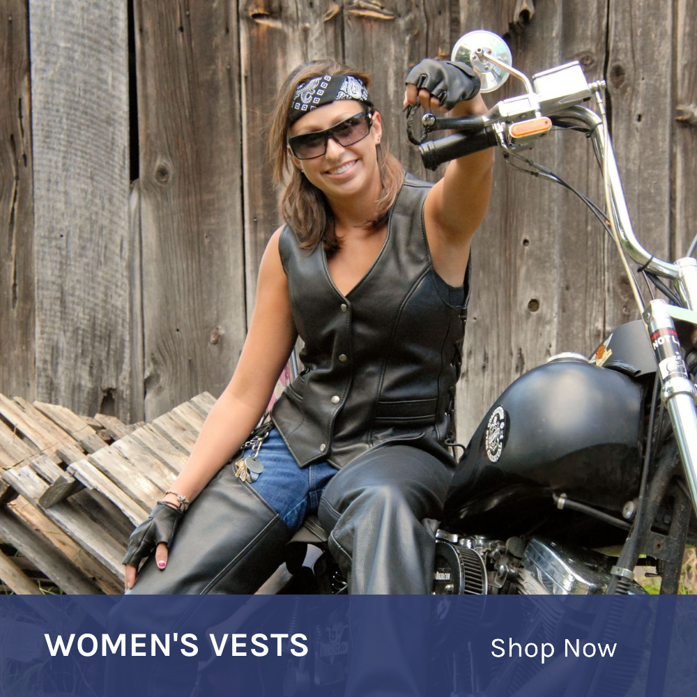 Women Motorcycle Vests