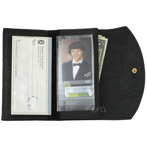 Ladies Credit Card Wallet Black