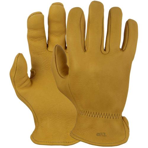 Pair view of our Elkskin Work Gloves.