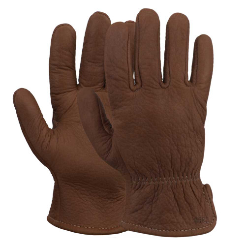 American Bison Leather Gloves