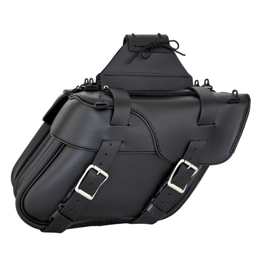 Slant Split Lid Saddlebags