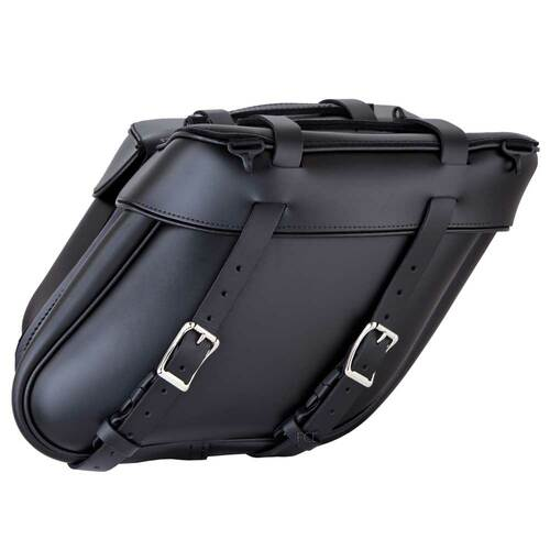 Wide Angle Motorcycle Saddlebags