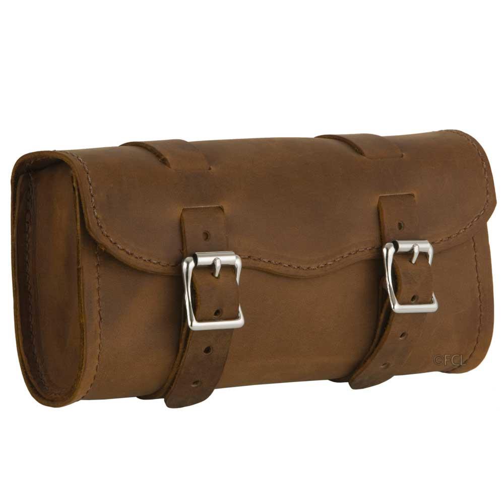5cb0f28a6 Heavy Duty Distressed Brown Toolbag - Fox Creek Leather