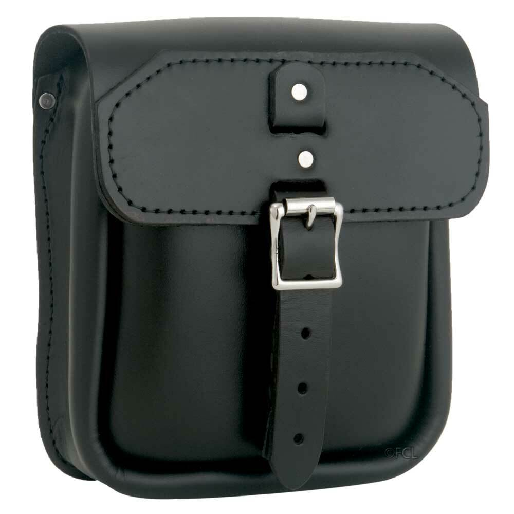 d7bcc963a998 Front view of the Slimline Sissybar Bag shown in Black.