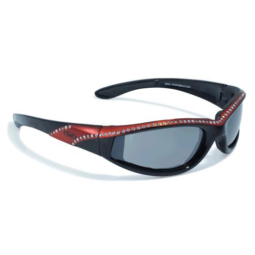 Marilyn Sunglasses with Orange frames.