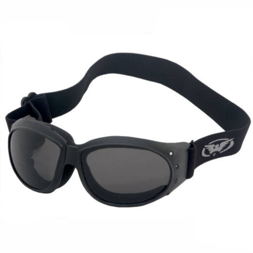 The Eliminator Goggles with Smoked Lenses.