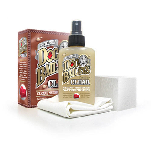 Clear Kit for leather care from Doc Bailey's.