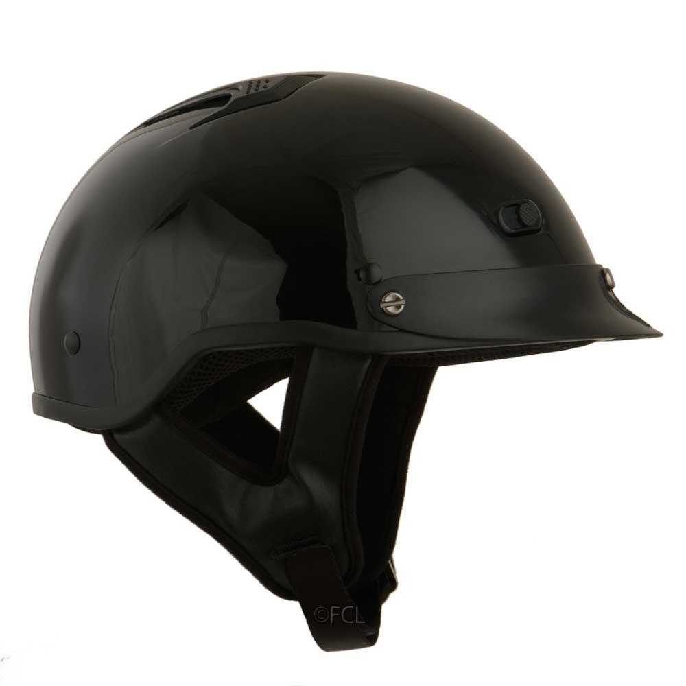 7500aae3354f Half Shell Vented Helmet - Fox Creek Leather