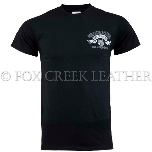Fox Creek Artist Design Tshirt Front view
