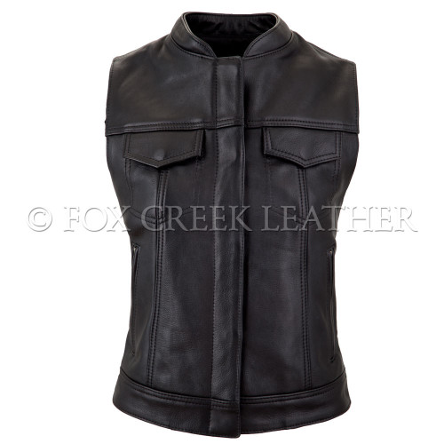 Women Zippered Rebel Vest