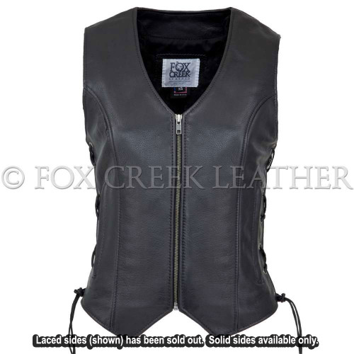 Zippered Touring Vest - solid sides only