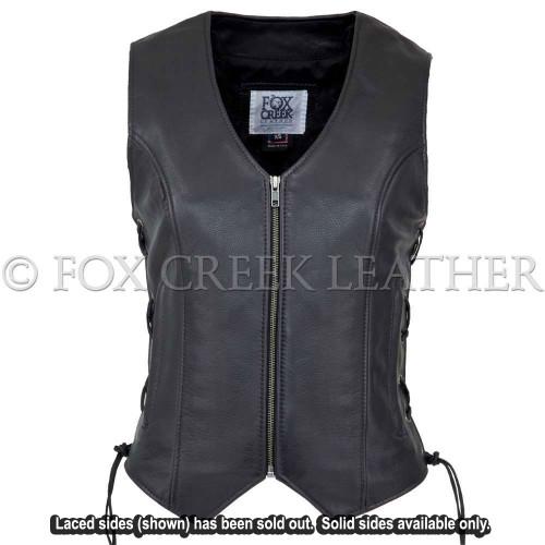Women Zippered Touring Vest