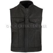 Leather Rebel Vest - Size 50 (Clearance 51)