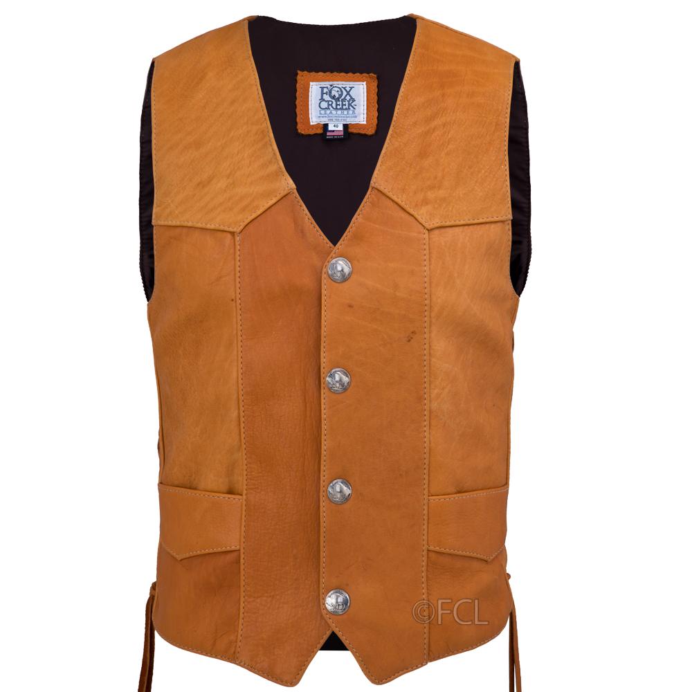 195dc1c53 Saddle Buffalo Classic Vest - Fox Creek Leather