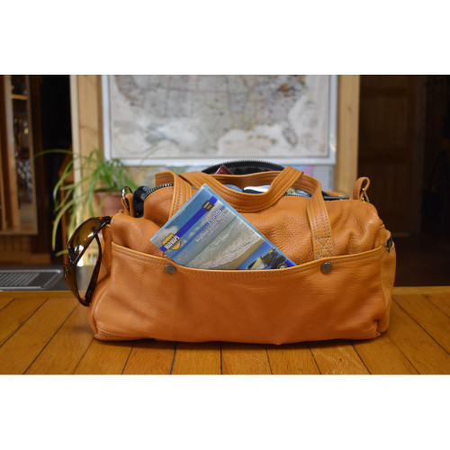Deluxe Carry All Bag in Elkskin Saddle