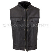 Men's Zippered Rebel Vest, Size 52 Long - (Clearance 5)