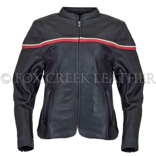 Women's Striped Racing Jacket