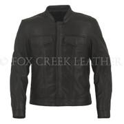 Men's Leather Rebel Jacket