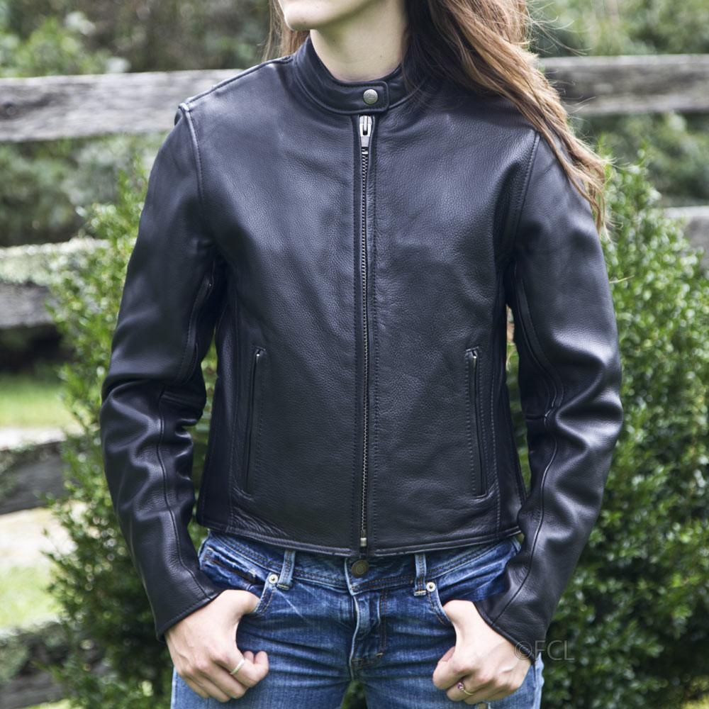 Womens Summer Riding Jacket - Fox Creek Leather-1980