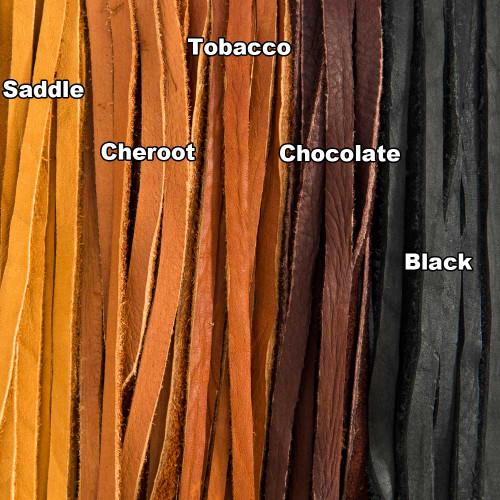 Handcut Buffalo Leather Laces