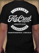 Fox Creek T-Shirt Short Sleeve || Back