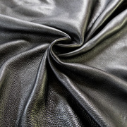 Cow Hide   Full Grain Leather   Black