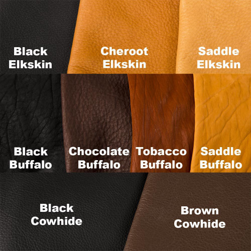 Leather Colors and Types