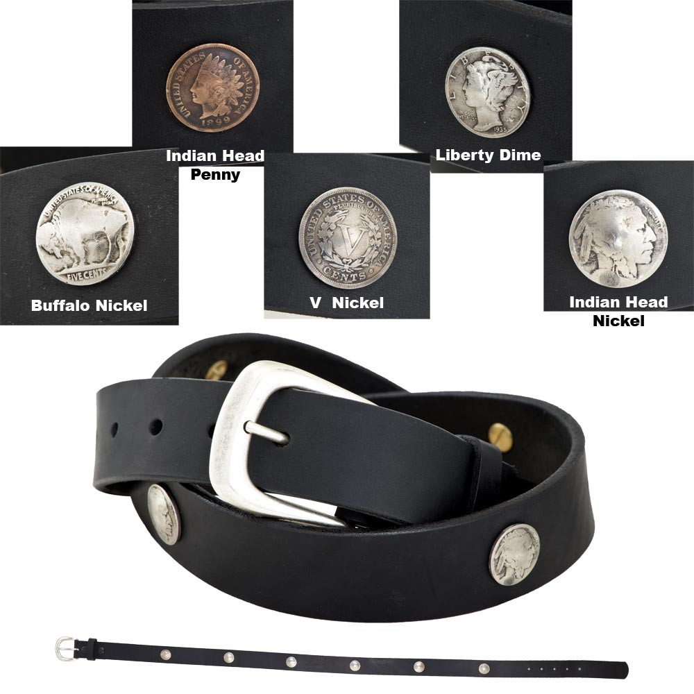 1 3 8 FCL Coin Concho Belt