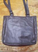 Small Tote Bag, Made in Brown Cowhide - Clearance #93