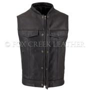 Men's Zippered Rebel Vest, Size 46 - (Clearance #99)
