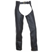 1.6-1.8 Leather Chaps, Size Large (Clearance #106)