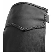 Leather Motorcycle Chaps, Medium waist, 5X Thigh - (Clearance #111)
