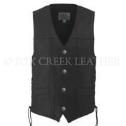 Men's Full Back Buffalo Nickel Vest, Size 46 Long (Clearance #9)