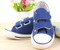 Navy Blue canvas shoe.