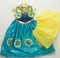 Anna 'Frozen Fever' Dress with petticoat.