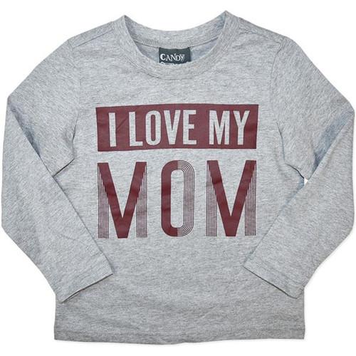 """Boys Long Sleeve Top - """"I Love My MOM"""""""