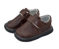 Toddler Boys Brown Leather Shoe.