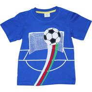 Boys Blue Soccer T-Shirt.