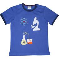 Boys Blue 'Science' T Shirt.